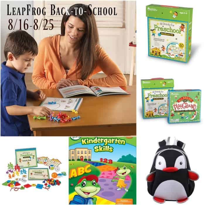 leapfrog teaching tools, back to school supplies