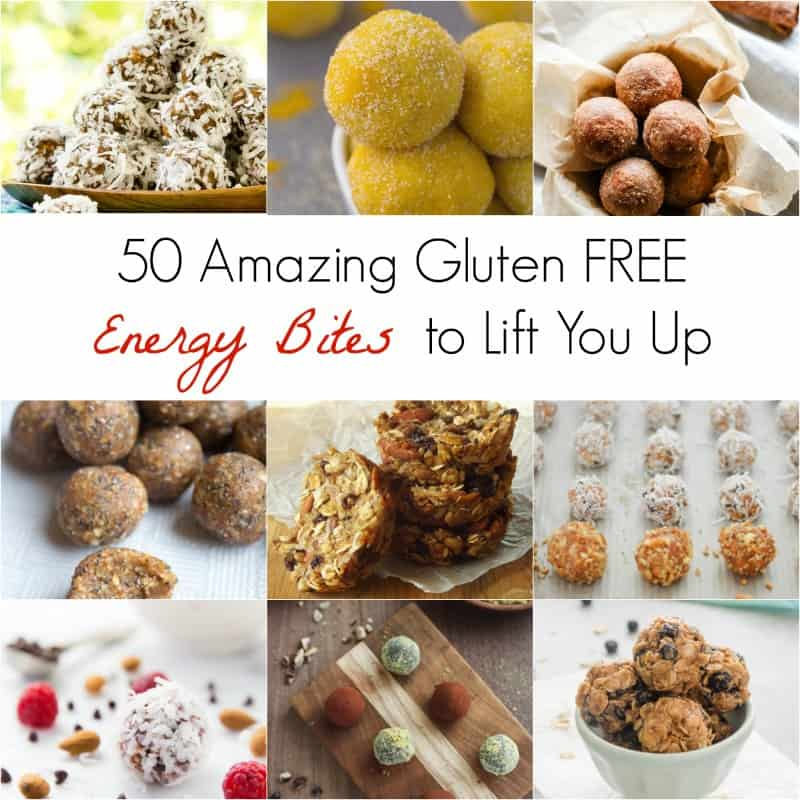 easy gluten free recipes, energy bites