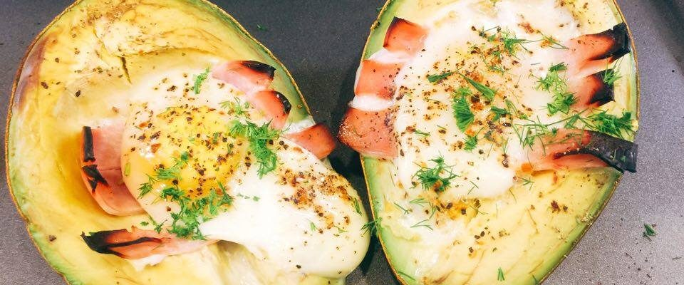 Avocado Baked With Egg Filling. Simple. Easy. Quick. #RecipeIdeas
