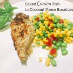 Corvina Fish Baked In A Coconut Crust