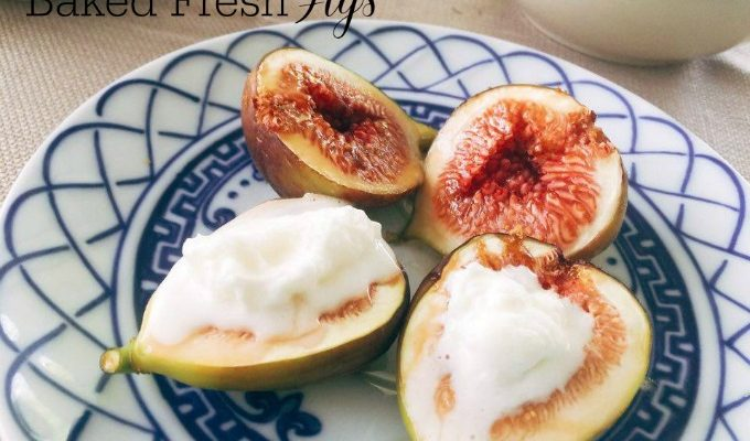 Baked Figs With Coconut Sugar Easy Recipe for A Prime Dessert