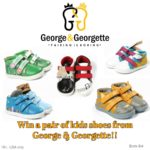 Can We Entice You To Win George & Georgette Kids Shoes?