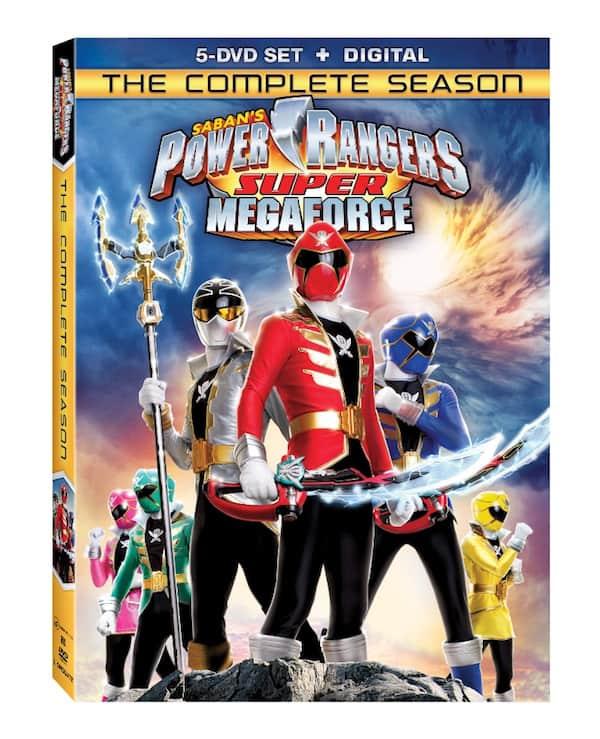 Power Rangers Megaforce DVD Complete Season