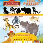 Celebrate With Lion Guard DVD And Great School Supplies Prize