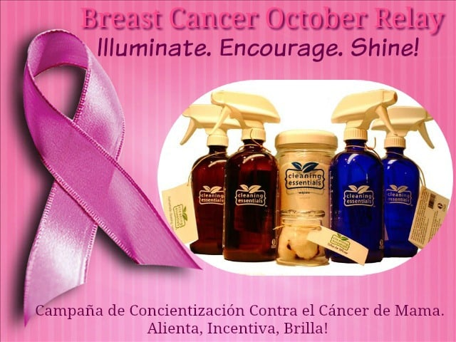 Breast Cancer Awareness Relay, Cleaning Essentials, Green Living