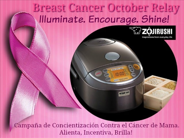 Breast Cancer Awareness Relay, Zojirushi