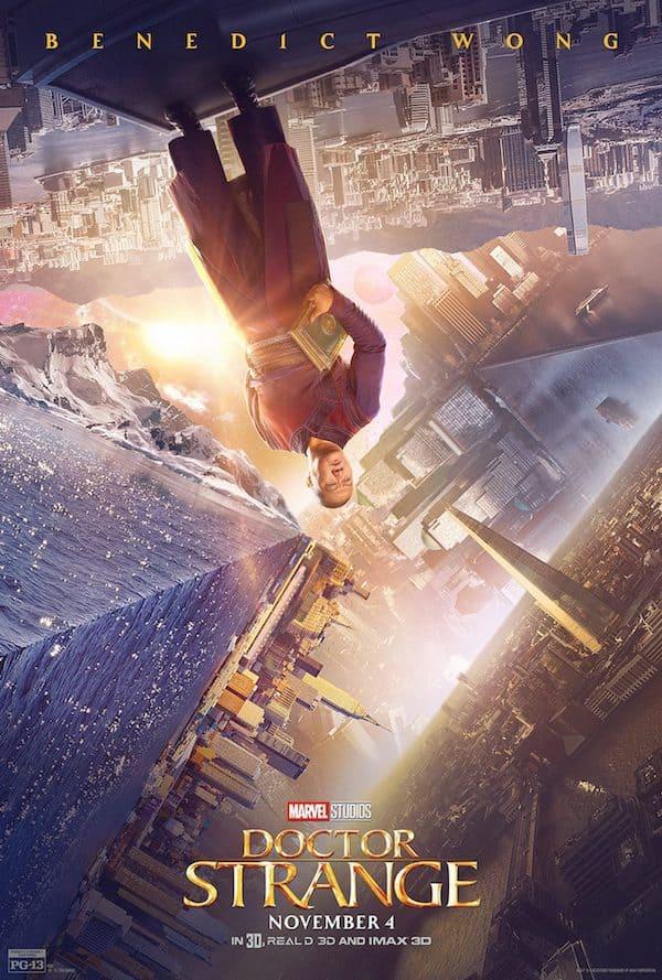 Benedict Wong, Doctor Strange, Marvel movies