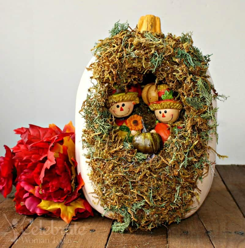 Halloween Pumpkin Garden Craft