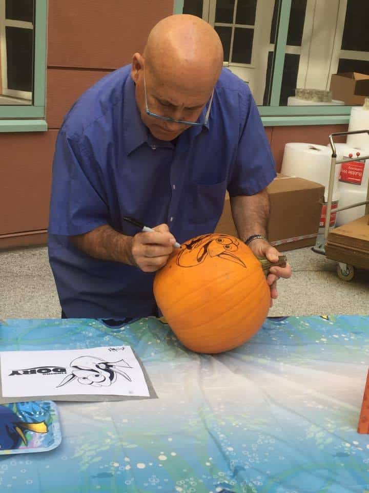 Joseph Jakovetic the Master Pumpkin Carver