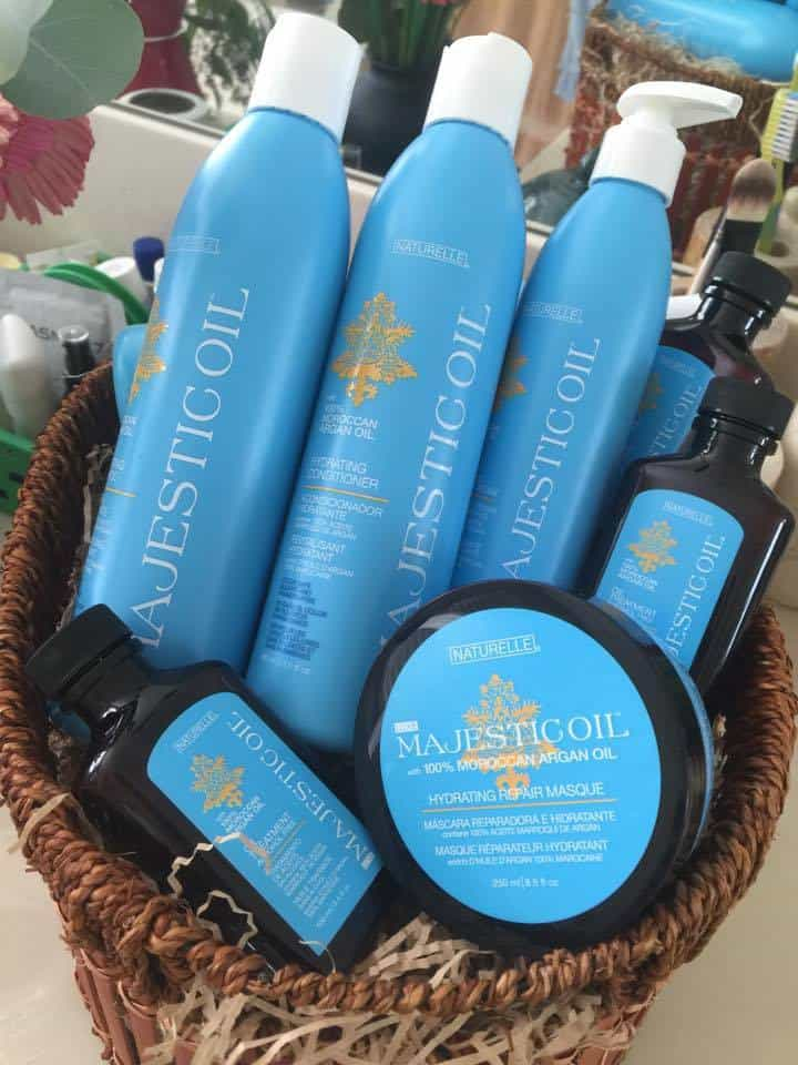 Naturelle Luxe Majestic Oil Hair Care Collection