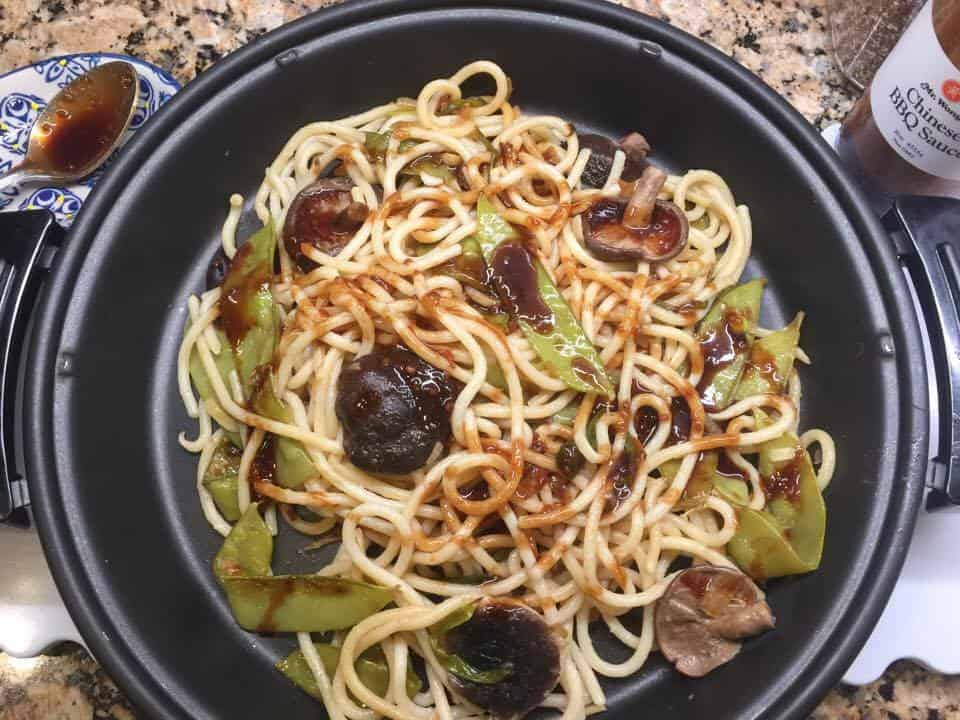 Ja Jeung Noodles, Chinese Sauces, Mr Wongs Sauces, Chinese Cuisine