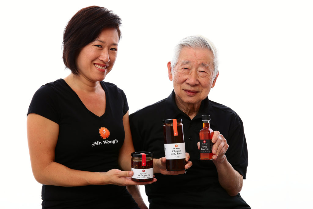 chinese sauces, Bernice Wong, Bernard Wong, Mr Wongs Sauces