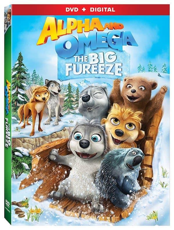 Alpha and Omega the Big Fureeze, Lionsgate movie DVD