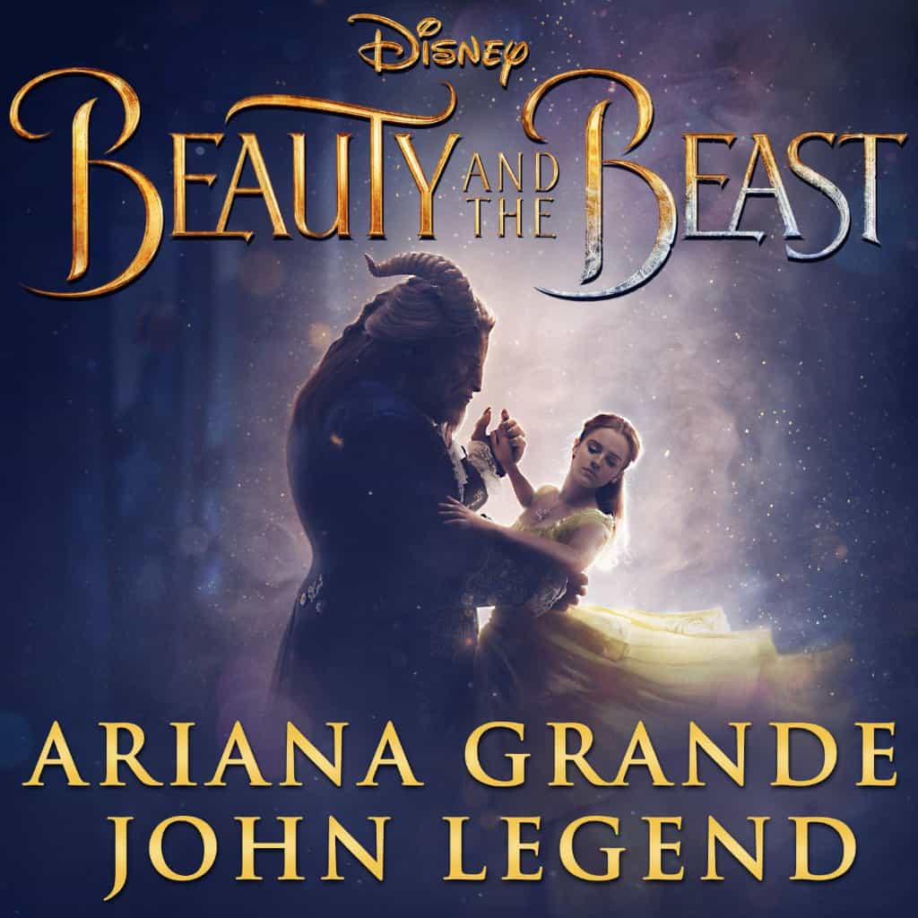 Ariana Grande and John Legends in Beauty And The Beast
