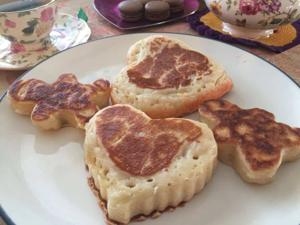 Crumpets Recipe for English High Tea