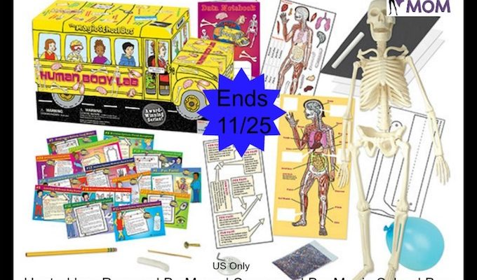 Magic School Bus Human Body Lab Giveaway