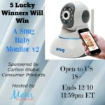 Got A Baby? Get A SNUG Baby Monitor – WIN IT!