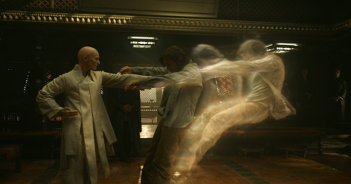 Tilda Swinton as The Ancient One, MARVEL's DOCTOR STRANGE