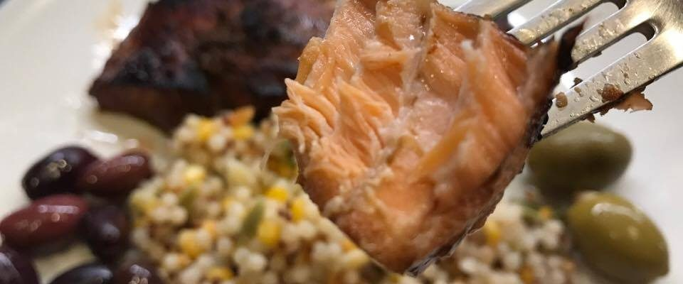 Caramelized Teriyaki Salmon #RecipeIdeas