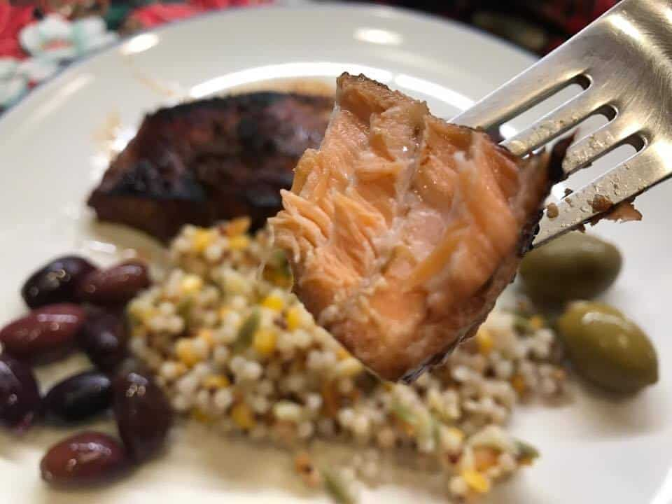 Caramelized Teriyaki Salmon Recipe