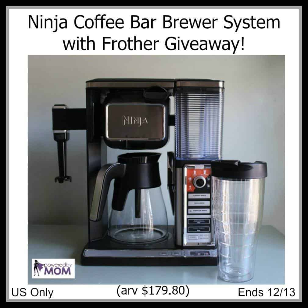 Ninja Coffee Maker With Frother : Ninja Coffee Bar Brewer System with Frother Giveaway #MyWOWgift