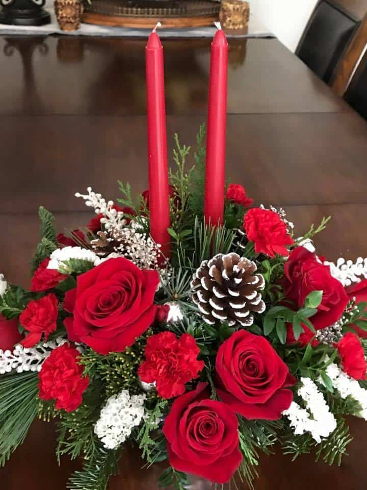 TELEFLORA Holiday Gift Guide Christmas Bouquets