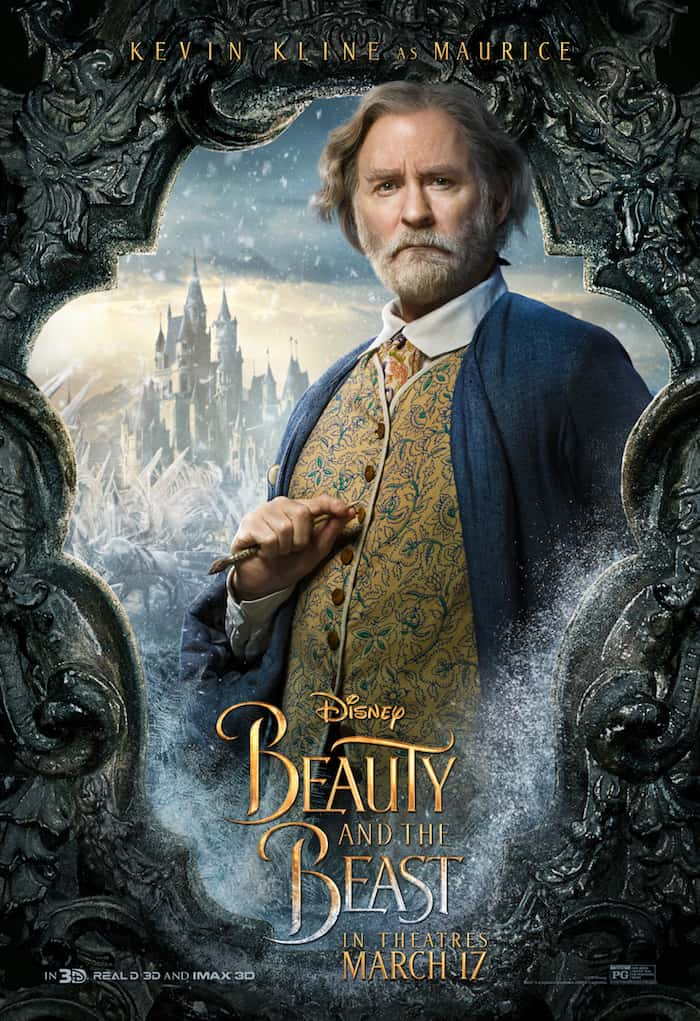 Beauty And The Beast, Disney Movie, Kevin Kline, Maurice