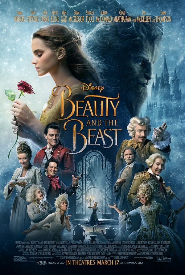 Beauty and the Beast Poster, Emma Watson