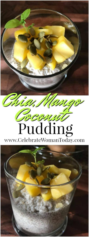 Chia Mango Coconut Pudding Recipe
