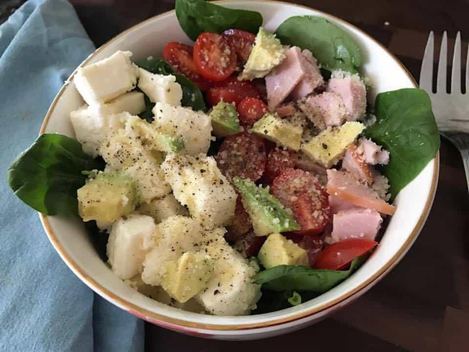 Cobb Salad Bowl Recipe Idea