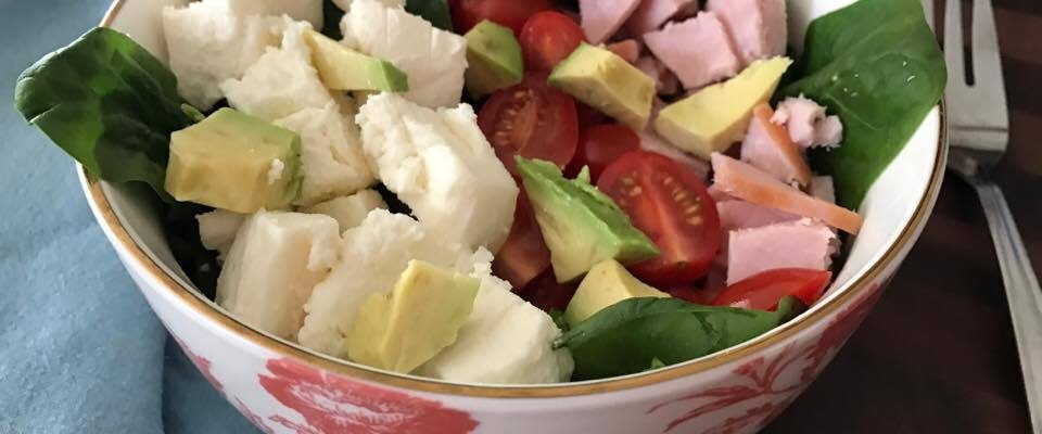 1, 2, 3 Cobb Salad Bowl #RecipeIdeas