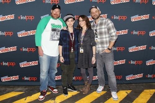 ComicCon New York Voltron-Executive Producers