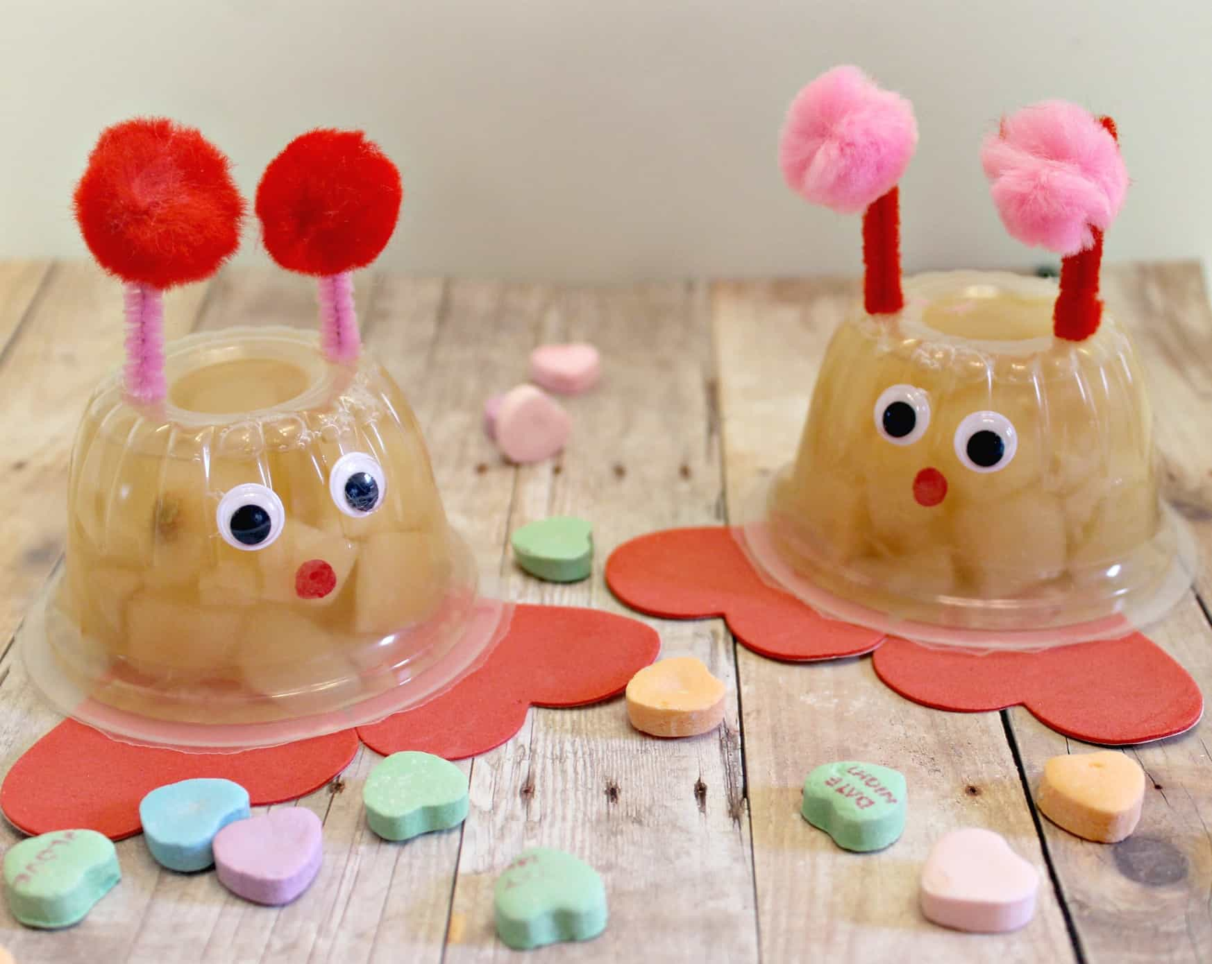 Love Bug Fruit Cups Craft