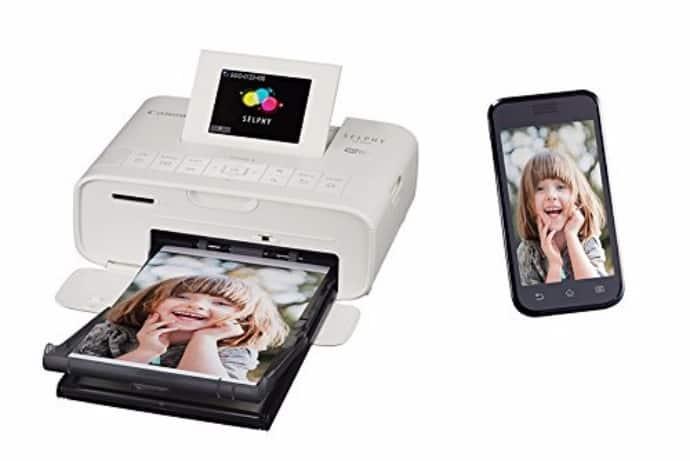 Canon Selphy CP1200 White Wireless Color Photo Printer