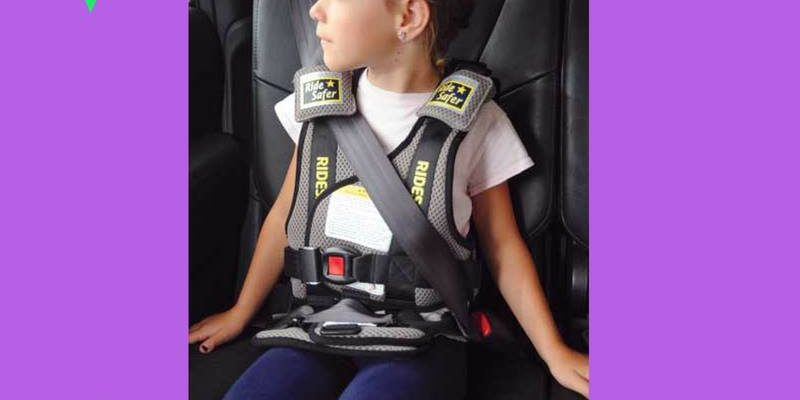 RideSafe Travel Vest For Your Toddler To Be Safe During Car Rides
