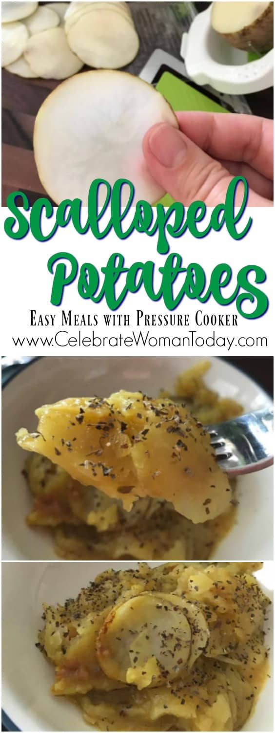 Scalloped Potatoes in Pressure Cooker