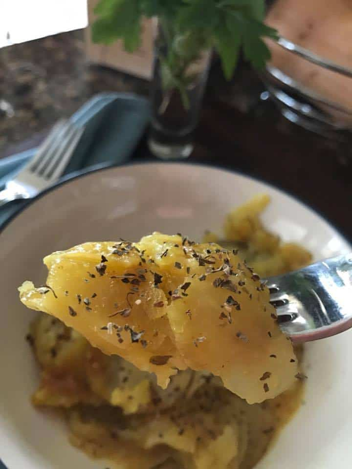 Three MInaute Scalloped Potatoes Recipe