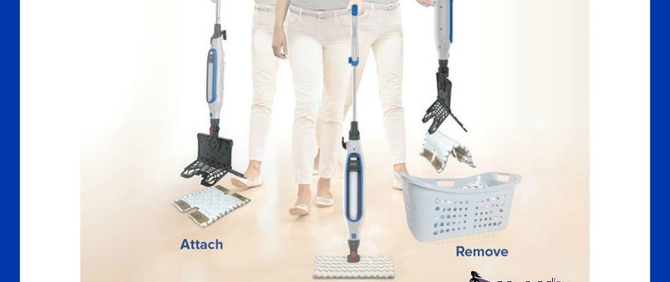Clean With Shark® Genius™ Steam Pocket® Mop System