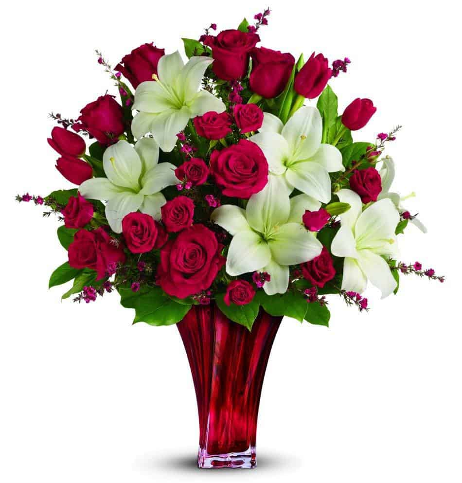 TELEFLORA bouquet loves passion