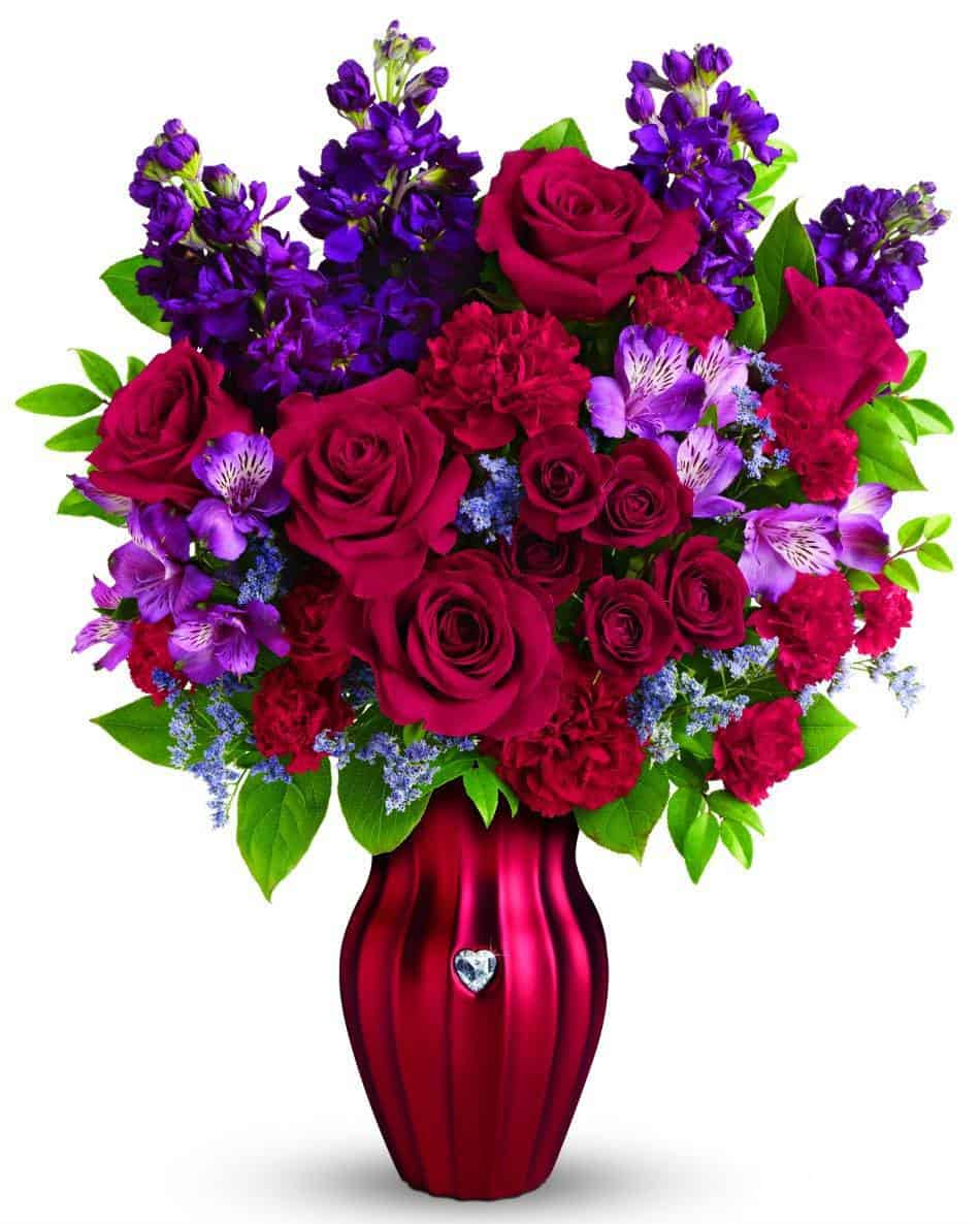 TELEFLORA bouquet shining heart