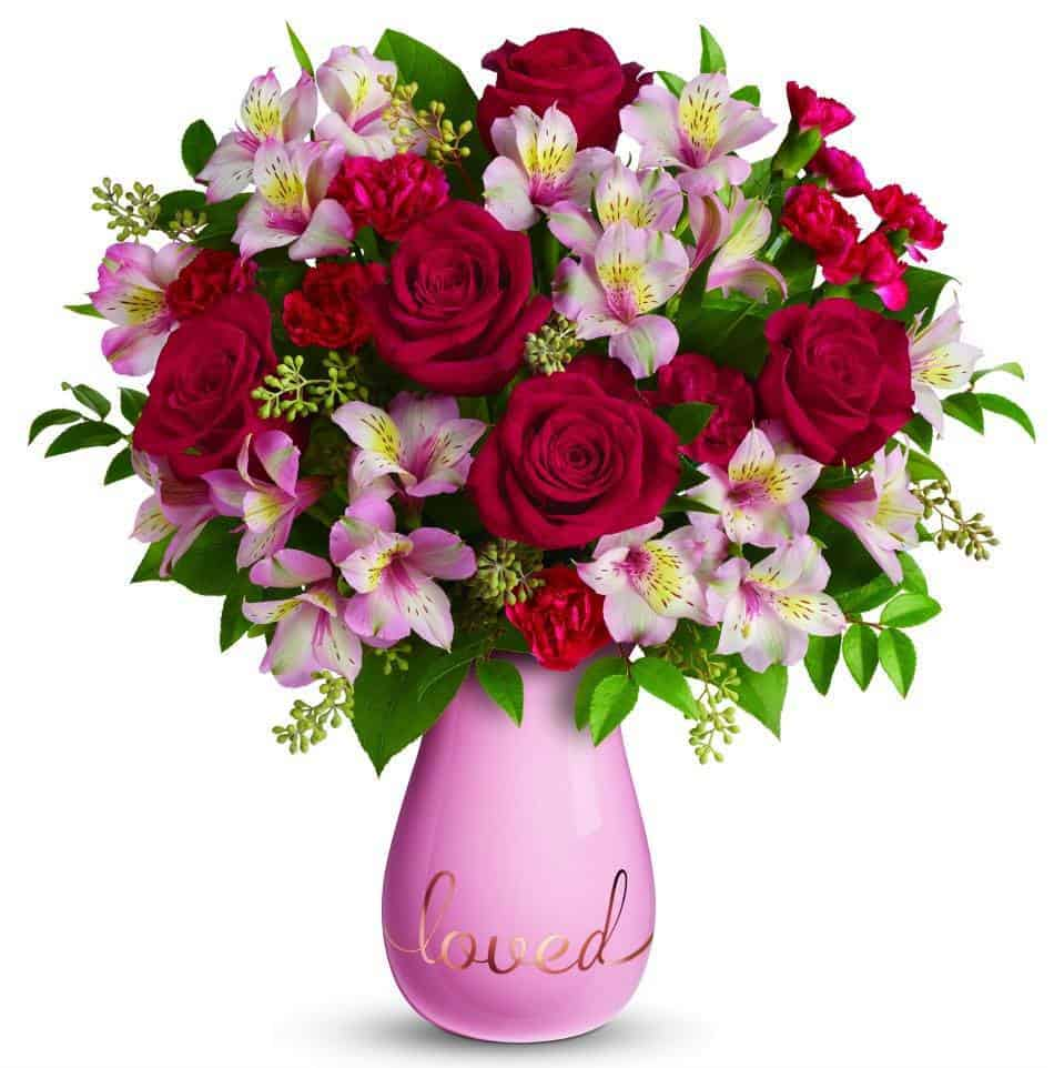 TELEFLORA bouquet true lovelies