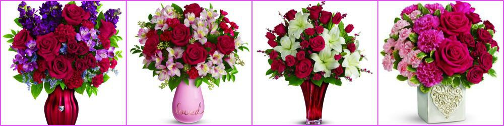 Win $75 TELEFLORA Gift Code for Your Special Velentine
