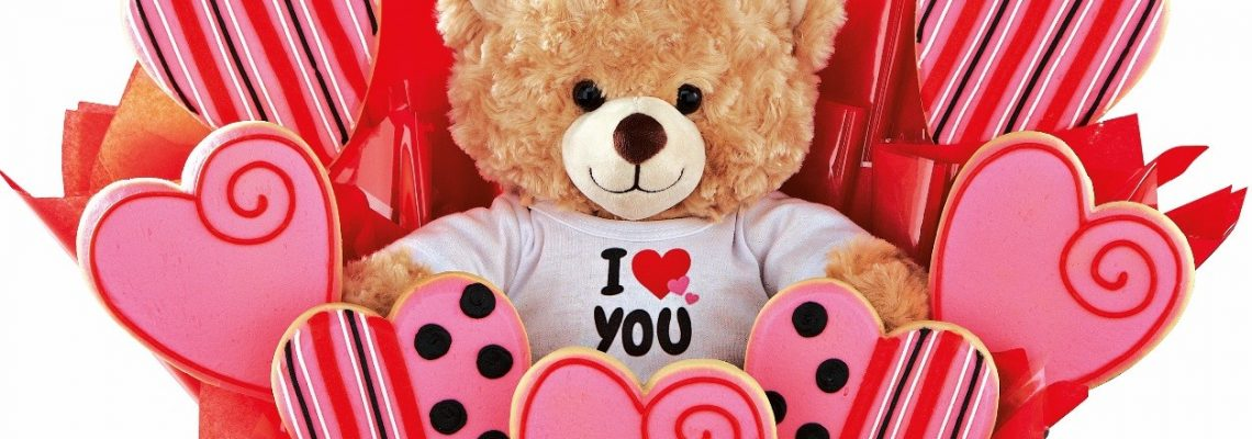 The Sweetest Valentine Ever With Build-A-Bear Cookies By Design Basket Plus Cash