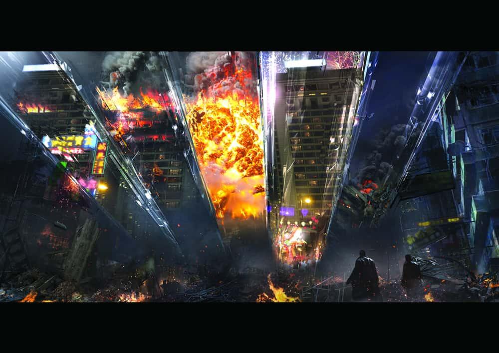 Doctor Strange Movie, Hong-Kong fight scene