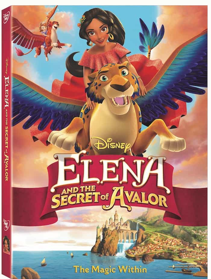 Elena of Avalor and the Secret of Avalor DVD