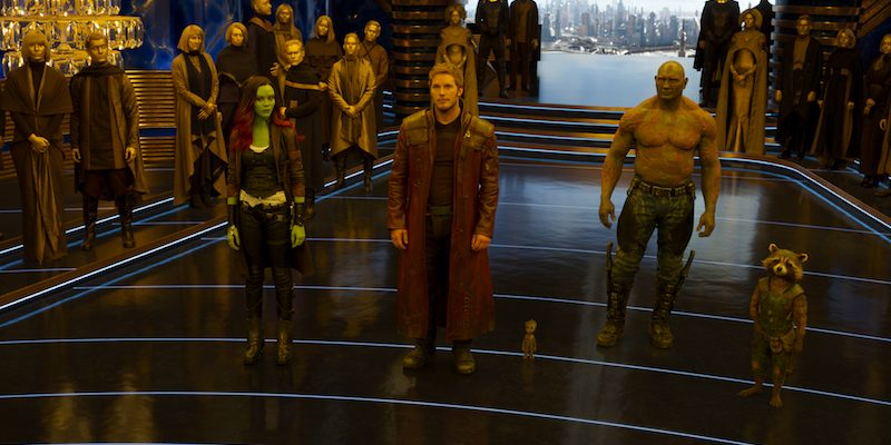 GUARDIANS OF THE GALAXY VOL. 2 Trailer & Poster #GotGVol2