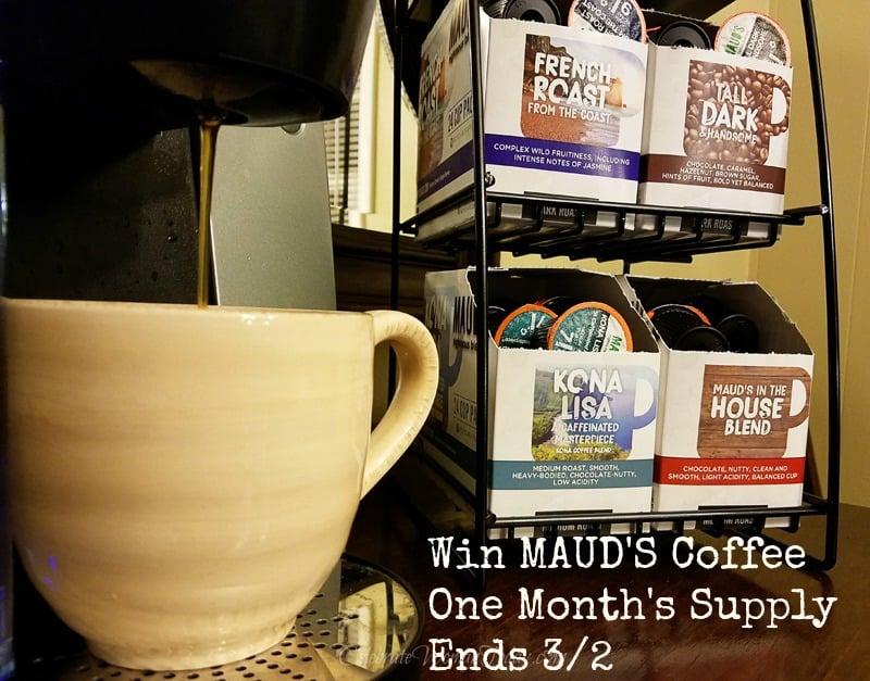 Mauds Coffee Giveaway