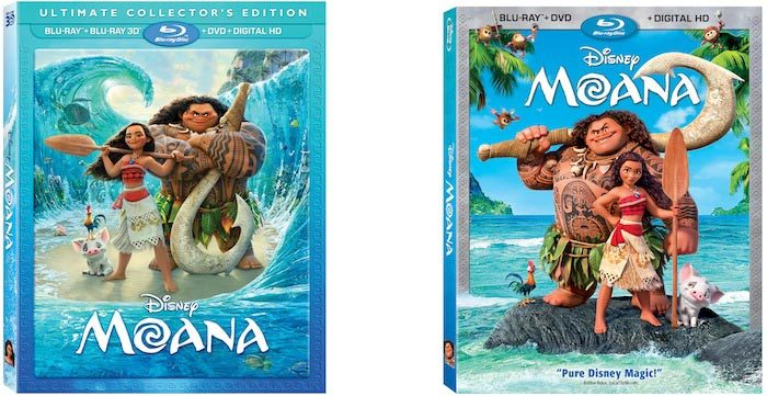 MOANA Ultimate Collectors Edition DVD