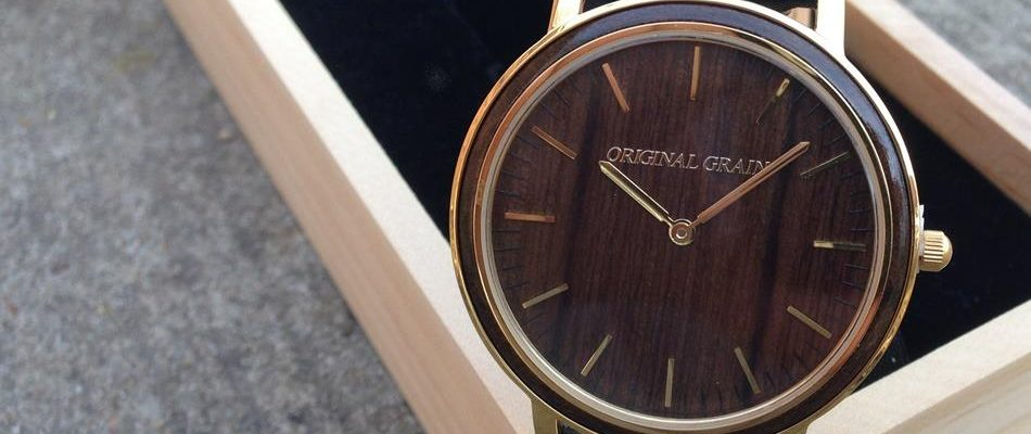 Men's Accessories of the Season Come In Original Grain Watch
