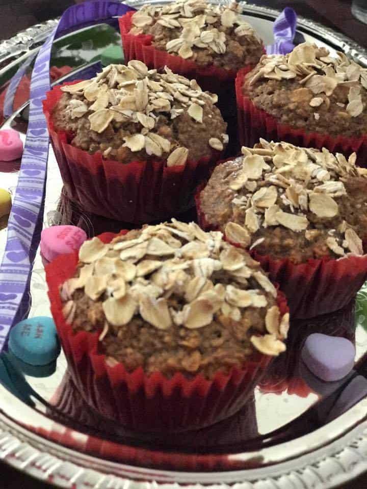 Oatmeal Muffins No Flour recipe